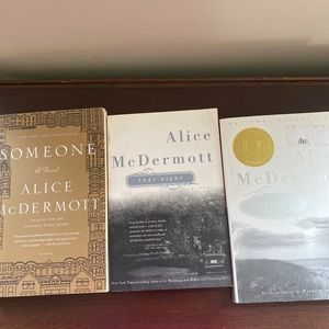 3 novels by Alice McDermott,award winning author